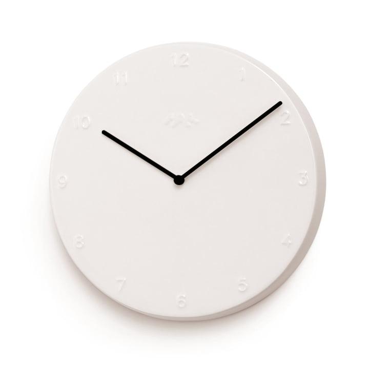 Kähler design - Ora wall clock 30 cm in white