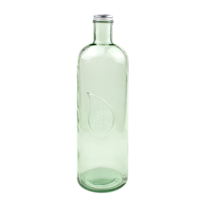 The Drop water and wine bottle by Novoform in spring green