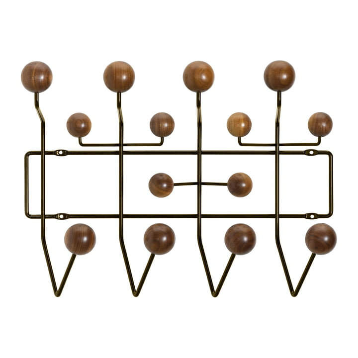Hang it all coat rack by Vitra in walnut / chocolate