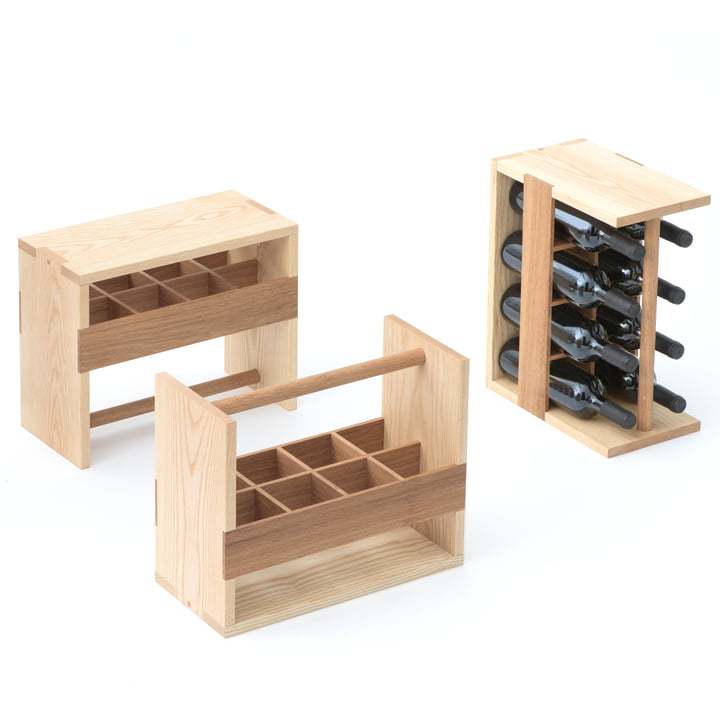 Auerberg - Bottle Box, ash / oak