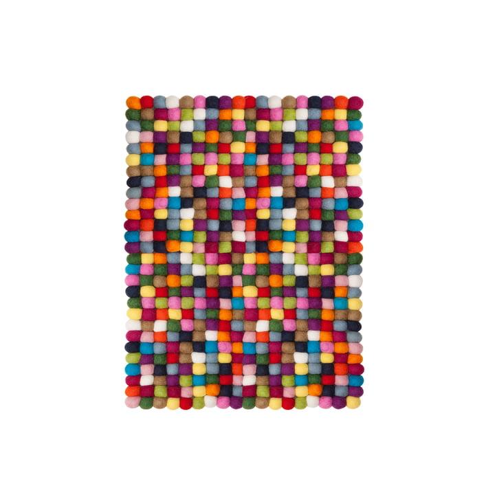 Lotte rectangular rug, 70 x 100 cm by myfelt