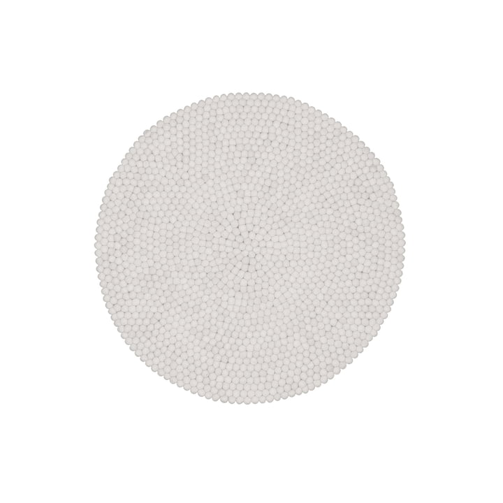 Linéa carpet round 90 cm from myfelt
