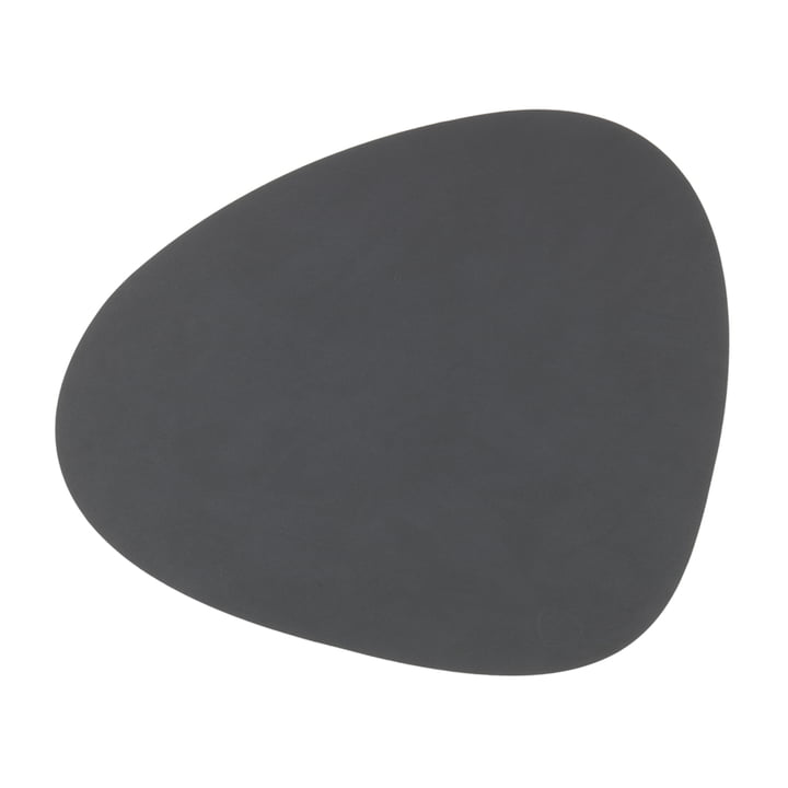 Table set Curve L by LindDNA in Nupo anthracite
