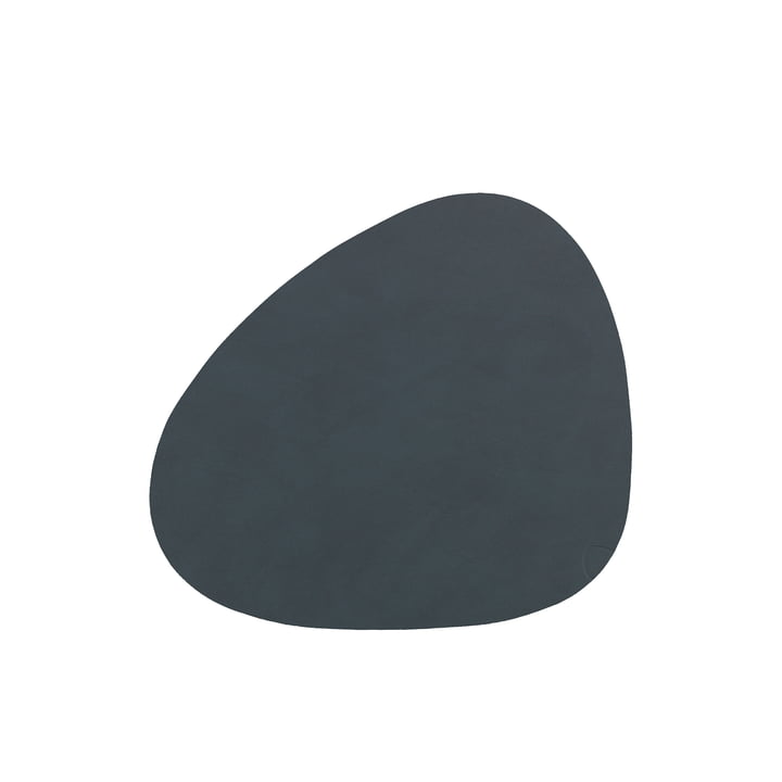 Glass coaster Curve from LindDNA in Nupo anthracite