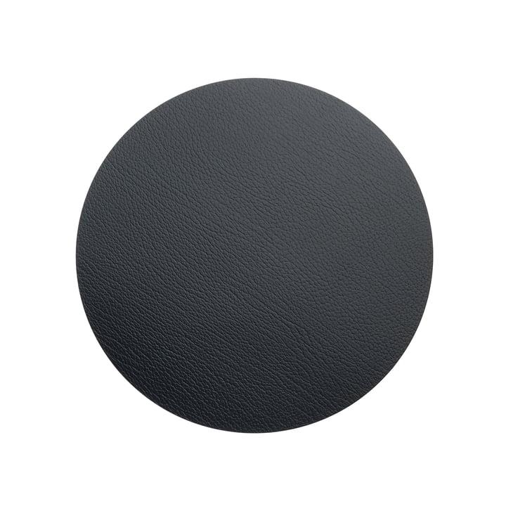 LindDNA - Hot Mat Circle S pot holder Ø 24 cm, black bull
