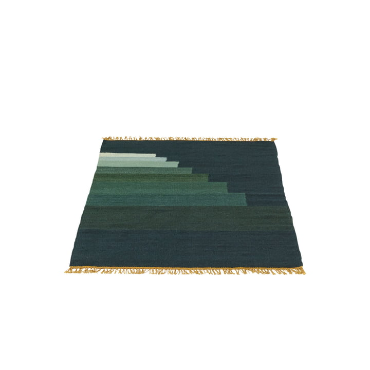 &Tradition - Another Rug AP1, 90 x 140 cm in jade green