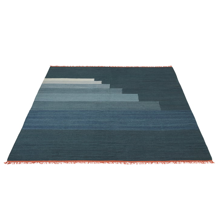 Another Rug AP4 by &Tradition in thunder blue