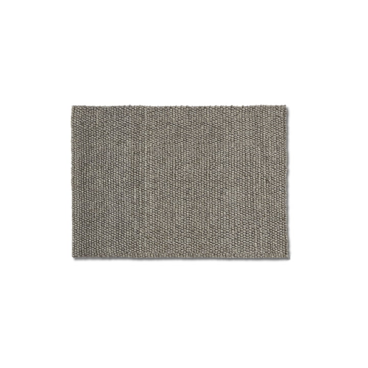 Peas carpet 80 x 140 cm from Hay in medium grey