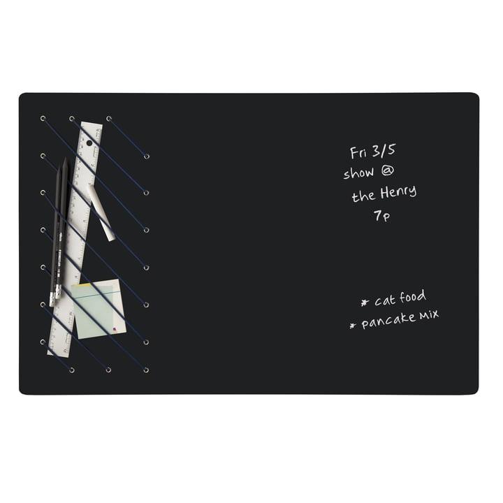 Writable blackboard with storage space