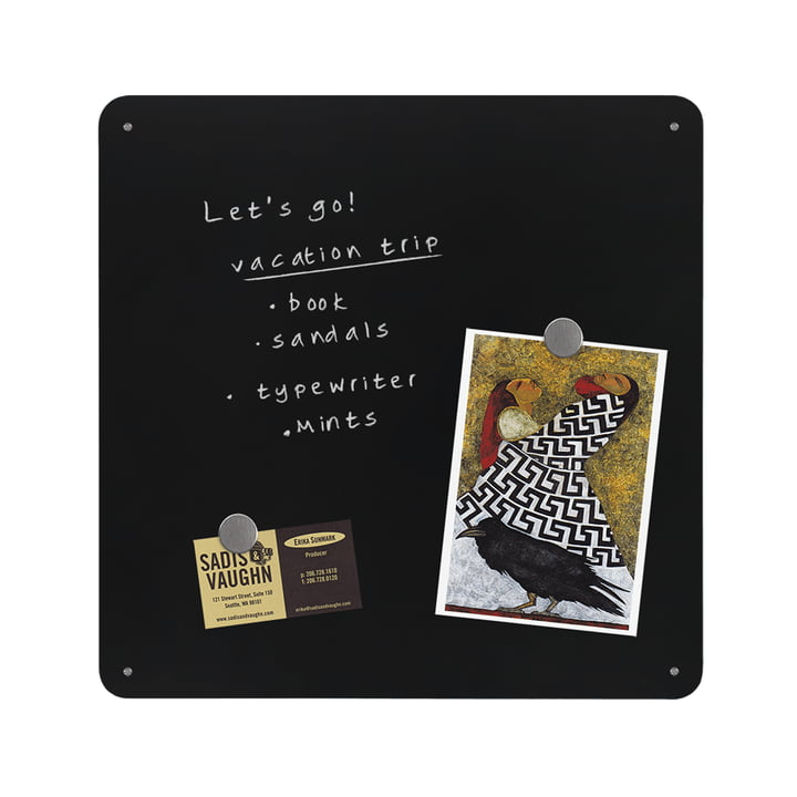 The Square Dot magnetic chalkboard by ThreeByThree