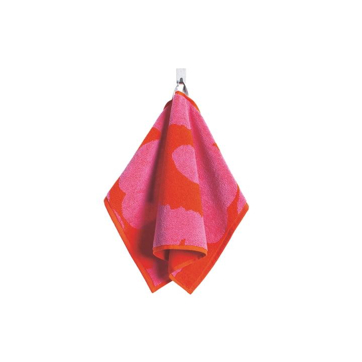Marimekko - Unikko Guest Towel 30 x 50 cm in red