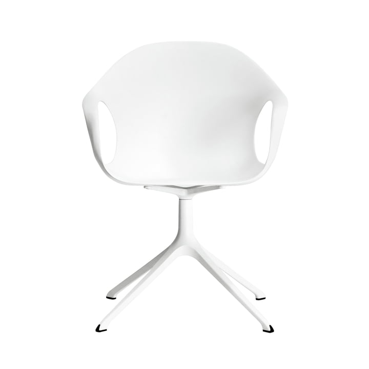 Kristalia - Elephant Chair with swivel base in white