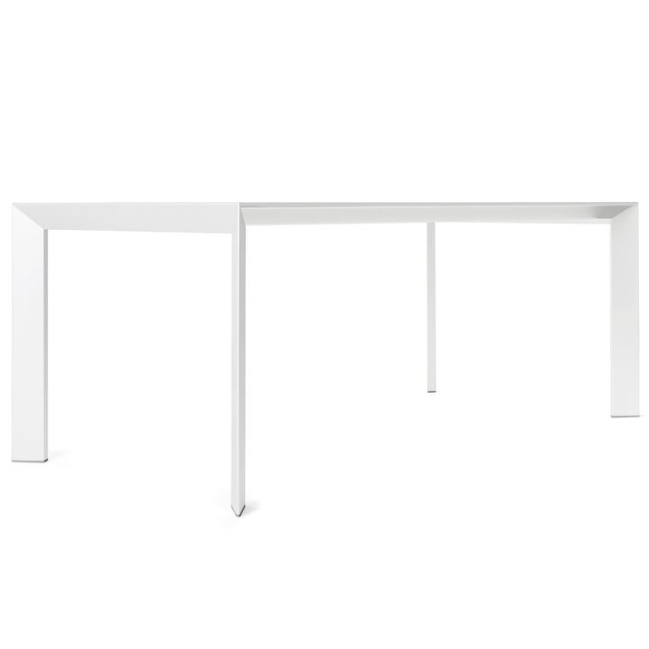 Kristalia - Nori table in pure-white