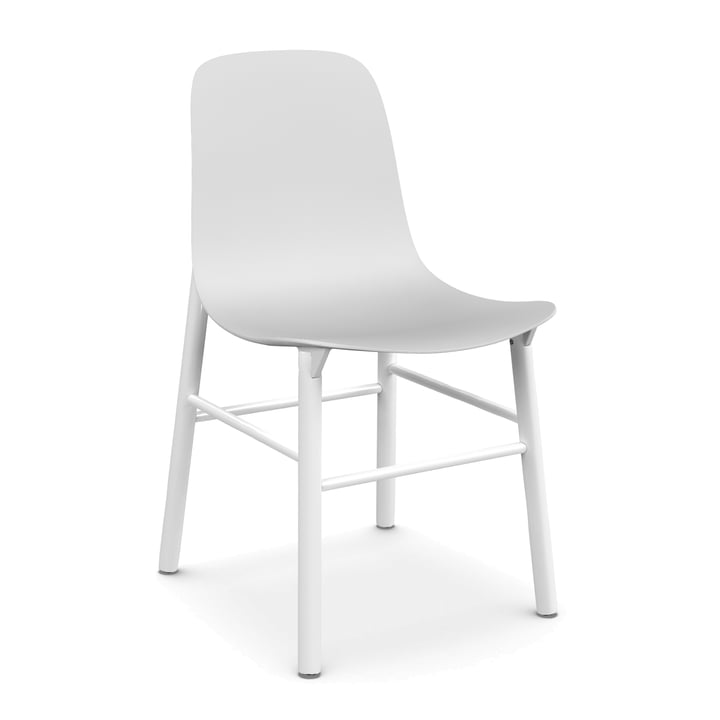 Kristalia - Sharky chair in white