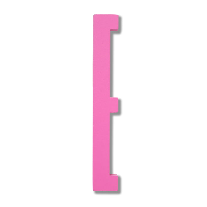 Wooden Letters Indoor E by Design Letters in Pink