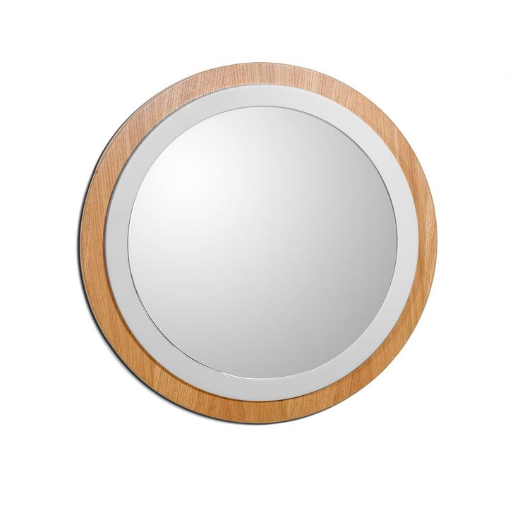 Mirror by The Hansen Family in cream white