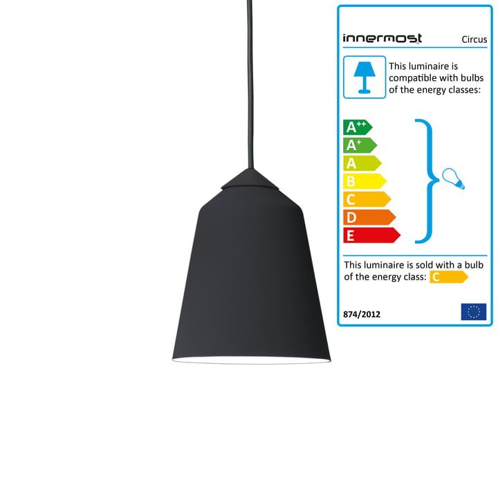 Innermost - Circus 15 Pendant Lamp black