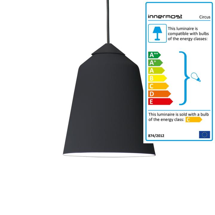 Innermost - Circus 36 Pendant Lamp black