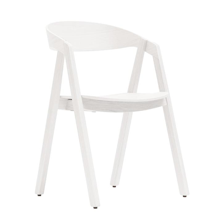 Maigrau - Nardo chair, oak, white varnished