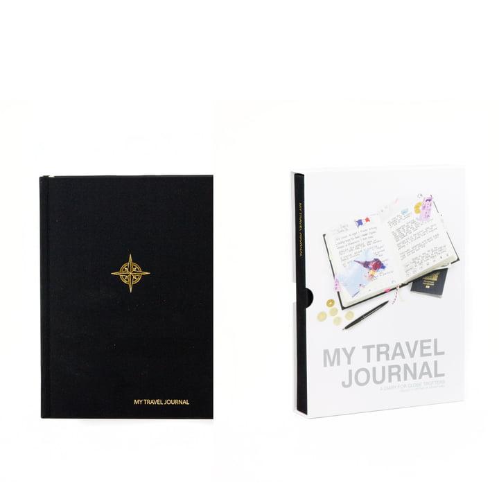 Suck Uk - My Travel Journal, black