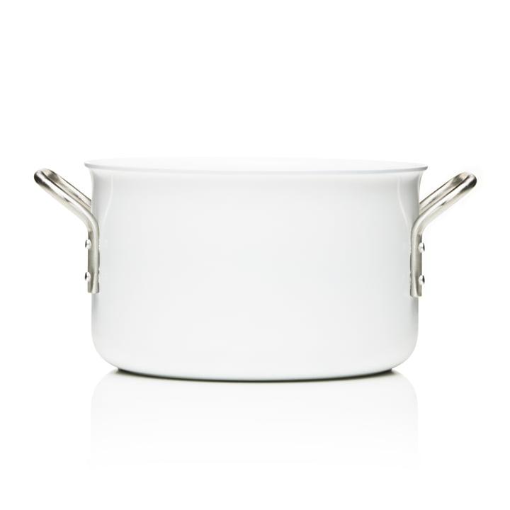 White Line pot with a capacity of 3.8 L by Eva Trio