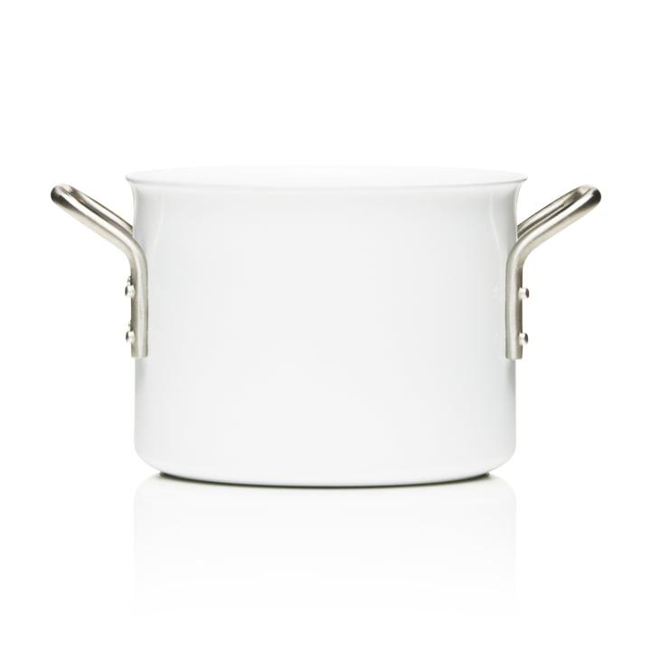 White Line pot with a capacity of 2.5 L by Eva Trio