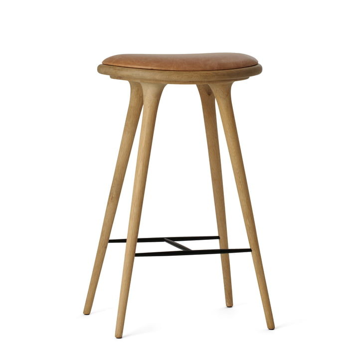 Barstool by Mater made from soaped oak