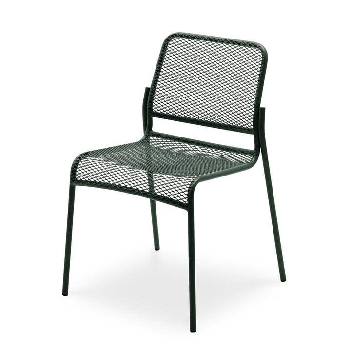 Mira Chair by Skagerak in dark green