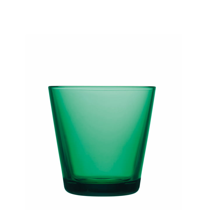 Kartio Drinking glass from Iittala in Emerald