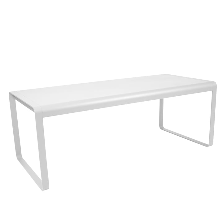 Bellevie Table by Fermob in cotton white