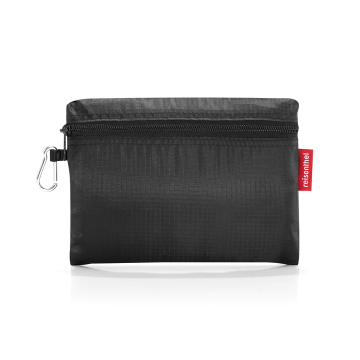 Folded dufflebag by reisenthel in black