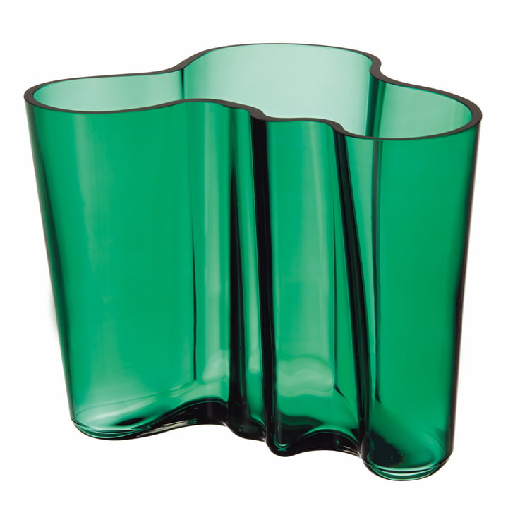 Iittala - Aalto Vase Savoy in emereld