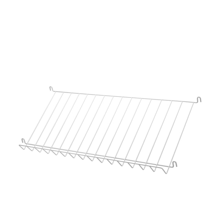 Magazine Rack by String in White