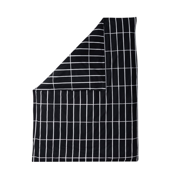 Tiiliskivi duvet cover by Marimekko in black / white