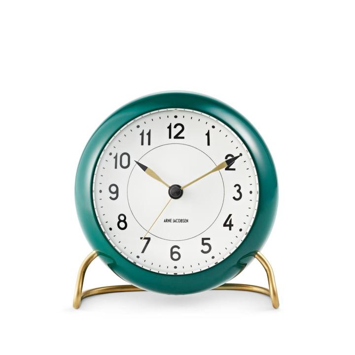 Rosendahl - AJ Station Alarm Clock, green / white
