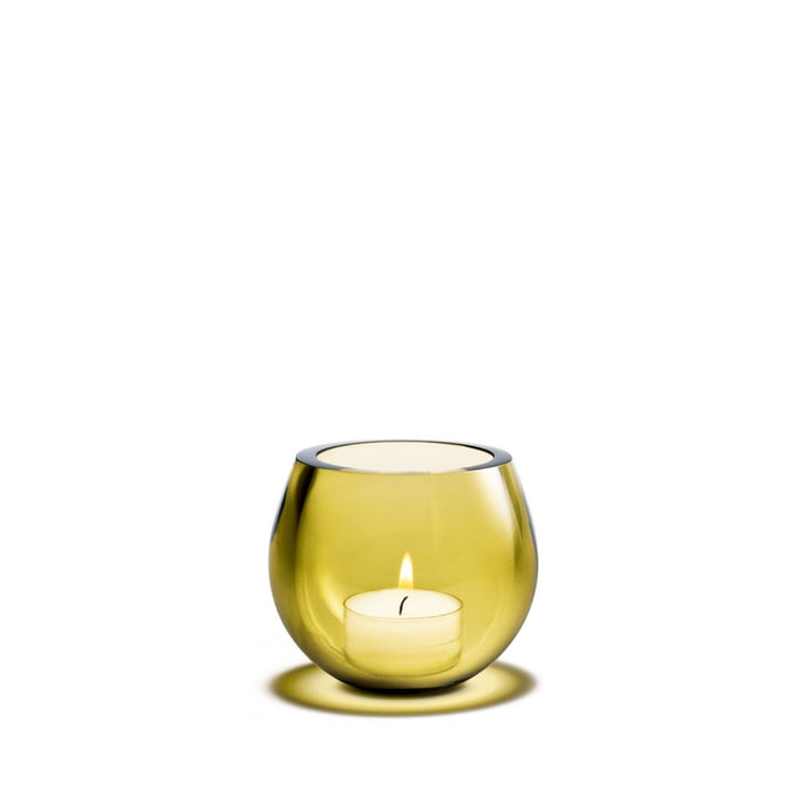 Cocoon Tea Light Holder from Holmegaard in bloom