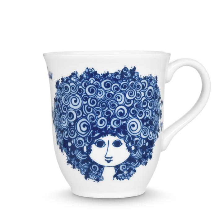 Bjørn Wiinblad - Mug Rosalinde 35 cl, blue