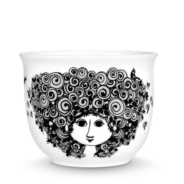 Bjørn Wiinblad - Pot plant holder Rosalinde, black