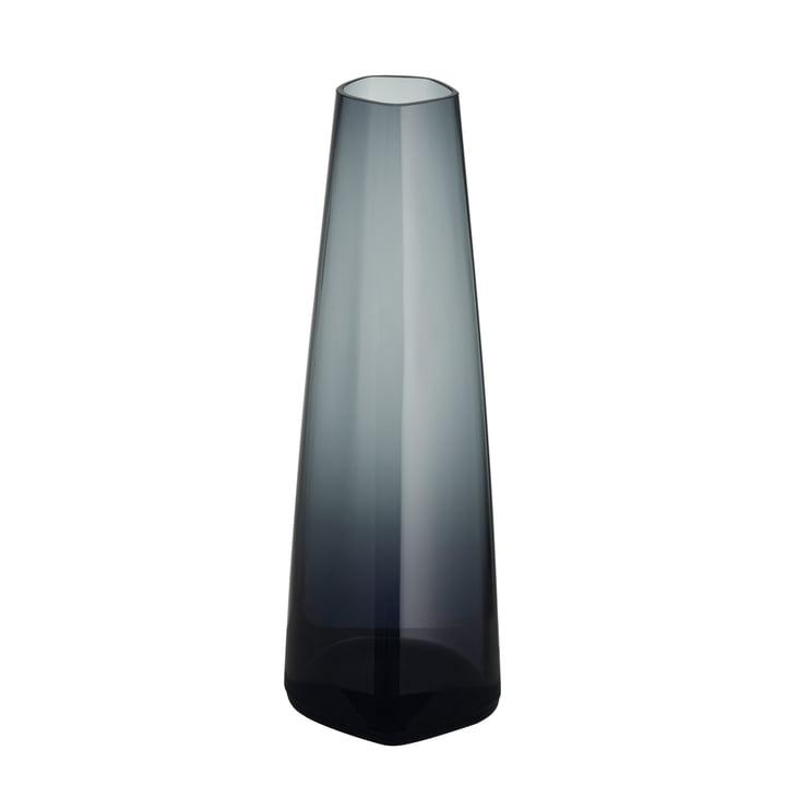 Iittala X Issey Miyake - Glass Vase 180 mm, dark grey