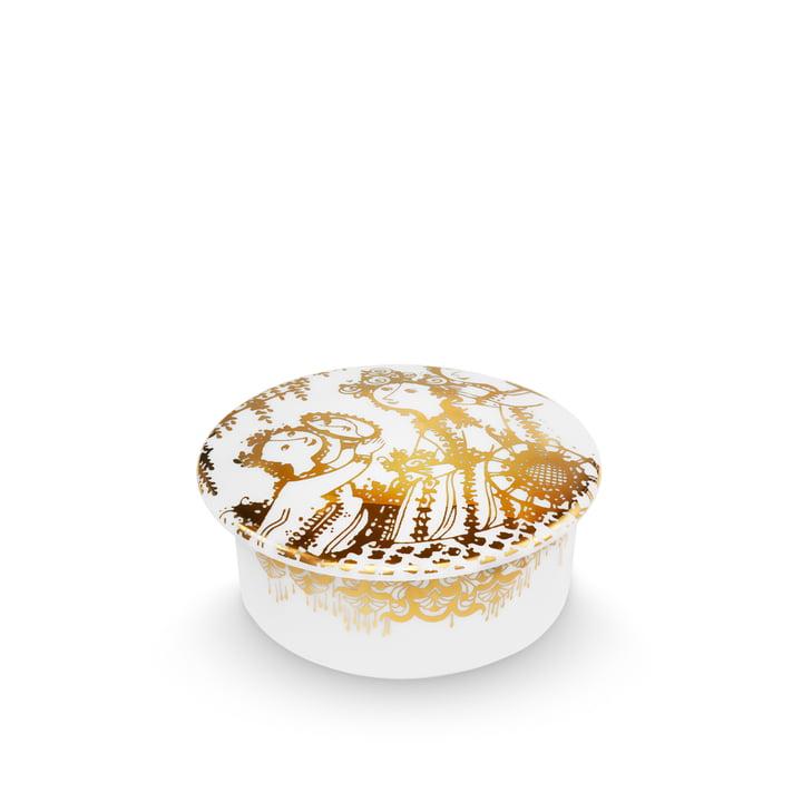 Bjørn Wiinblad - Bowl with Lid Narcissus, gold