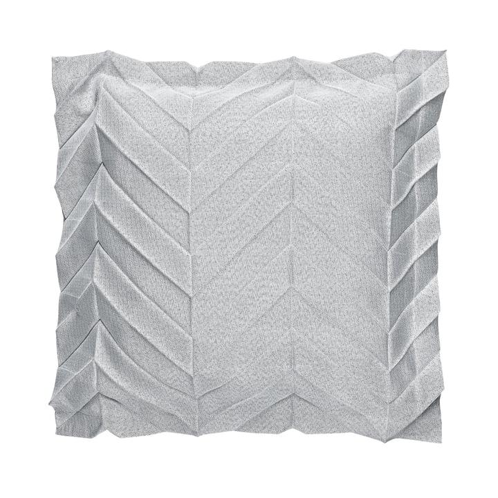 Iittala X Issey Miyake - Pillowcase 50 x 50 cm zigzag, light grey