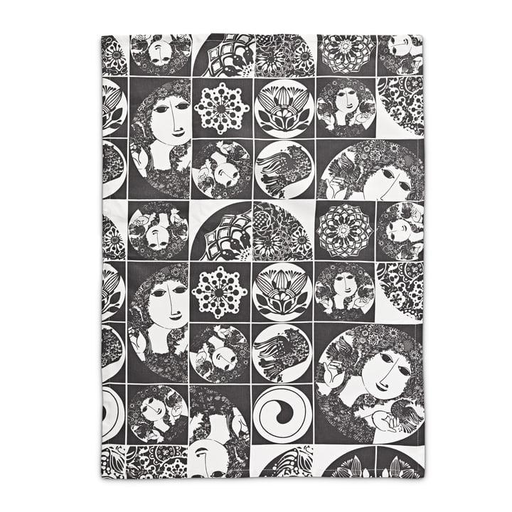 Bjørn Wiinblad - tea towel, dark grey