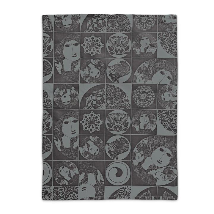 Bjørn Wiinblad - tea towel, black / grey