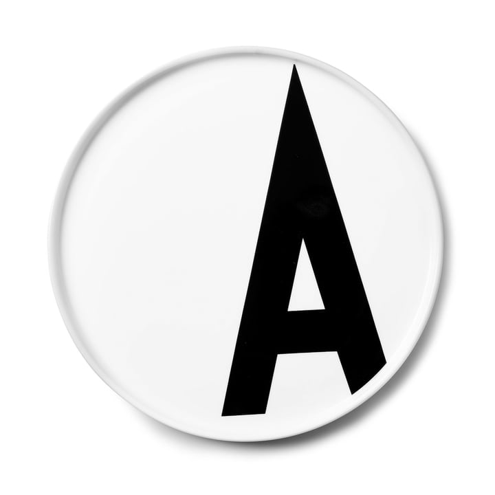 The AJ porcelain plate A from Design Letters