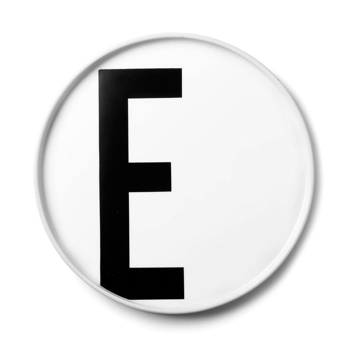 Design Letters - AJ Porcelain Plate E