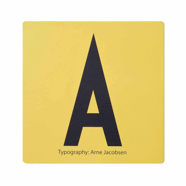 Design Letters - AJ Memory Game, tile A