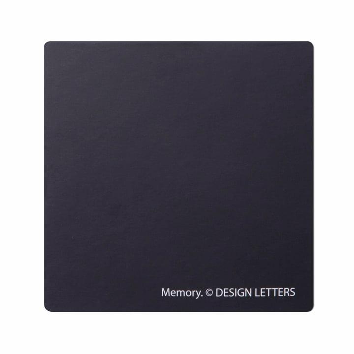 Design Letters - AJ Memory Game, backside of a tile