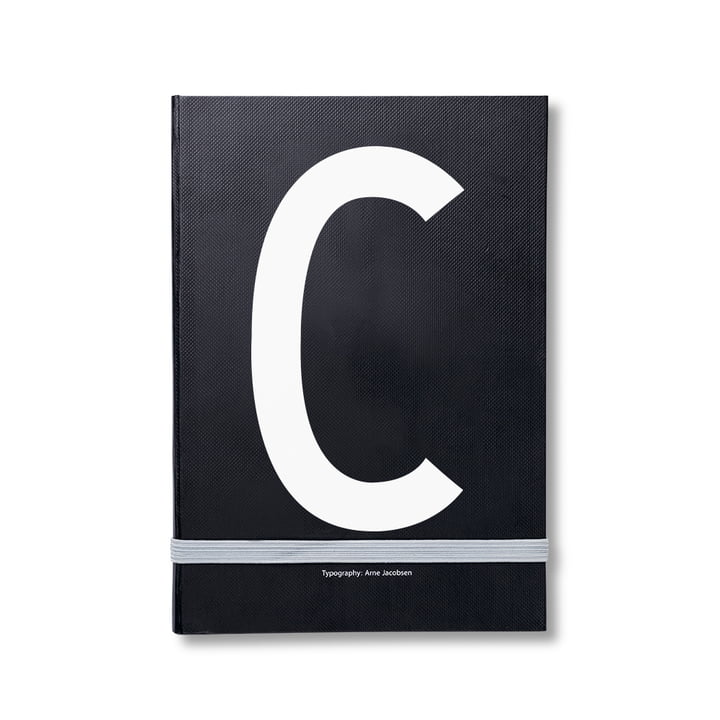 Design Letters - Personal Notebook A-Z, C