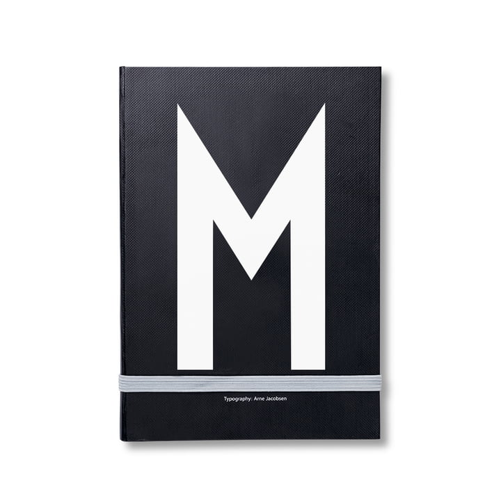 Design Letters - Personal Notebook A-Z, M