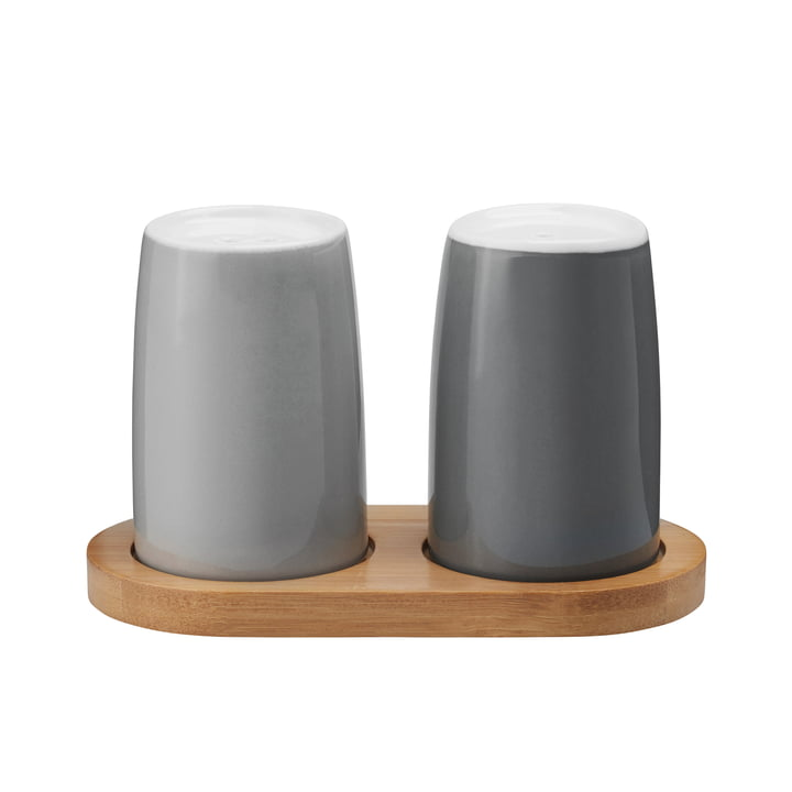 Stelton - Emma Salt and Pepper Shakers, grey